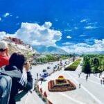 Potala view shot by friend