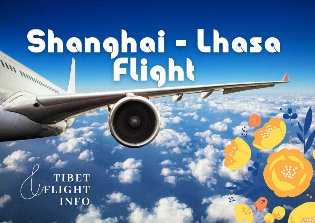 Shanghai Lhasa Flight