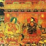 Painting in Potala - Fifth Dalai Lamafifth Dalai Lama