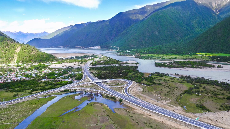 Nyingchi Lhasa Express Highway Bridge