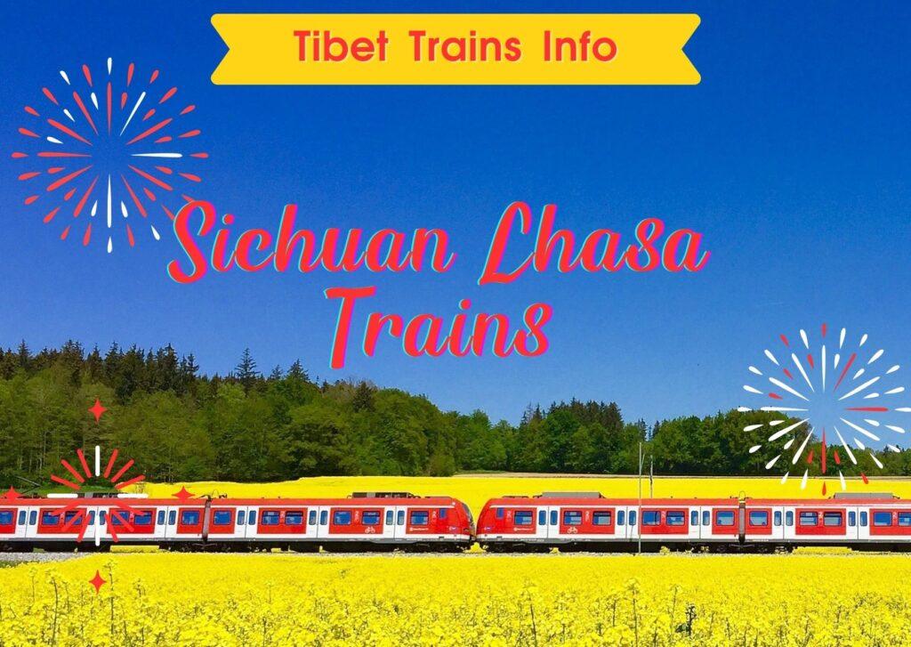 Sichuan Lhasa Train route