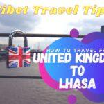 United kingdom to Lhasa